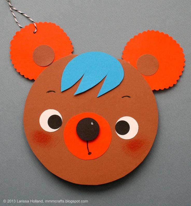 free bear craft idea for kids (3)