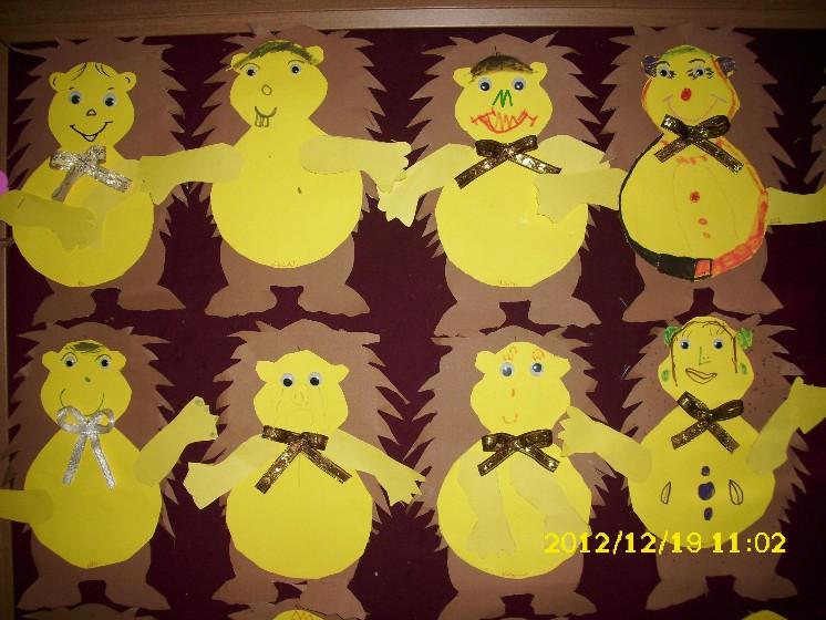 free hedgehog craft idea for kids (1)