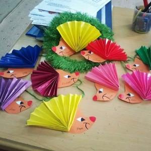 free hedgehog craft idea for kids (3)