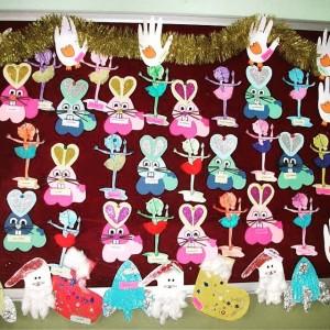 heart bunny craft
