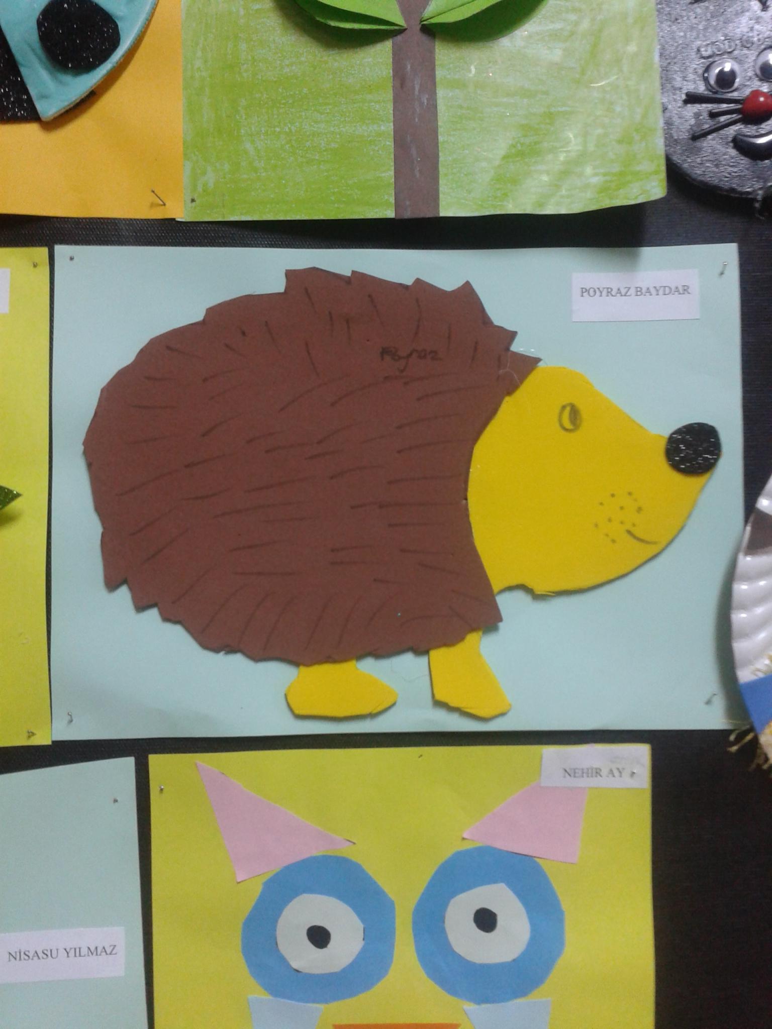 hedgehog craft
