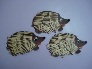 match hedgehog craft
