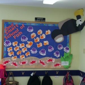 ocean animal bulletin board