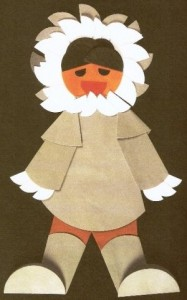 origami eskimo craft