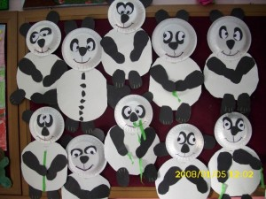 panda bear craft idea