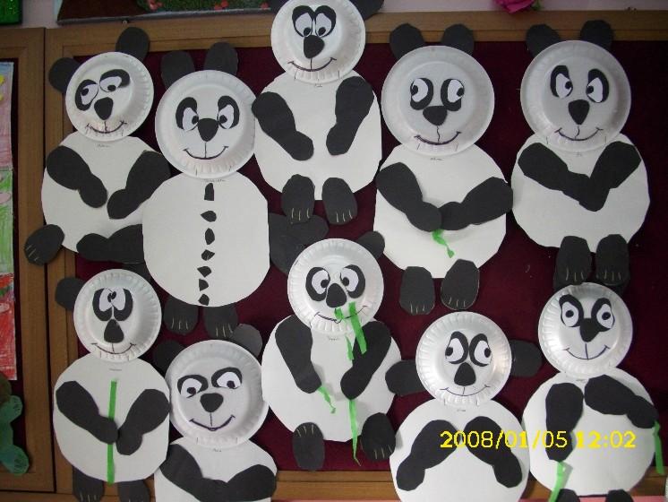 panda bear craft idea