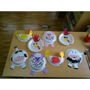 paper plate farm animals craft (2)