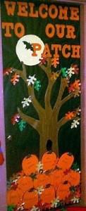 pumpkin bulletin board idea (3)