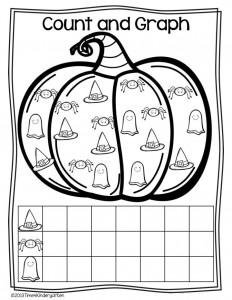 pumpkin graph worksheet