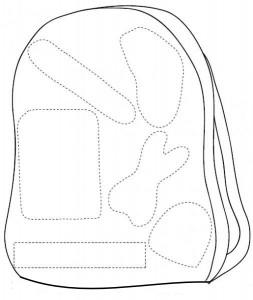 school bag craft
