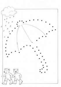 umbrealla tracing worksheet (7)