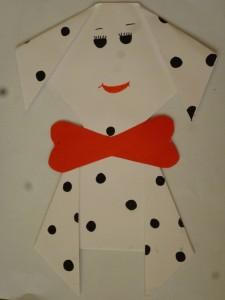 Dalmatian dog craft (1)