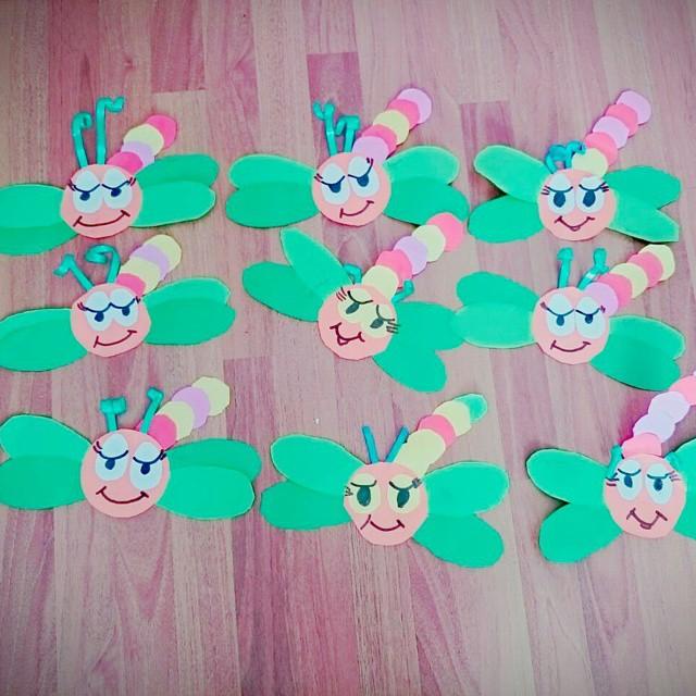 Dragonfly craft idea