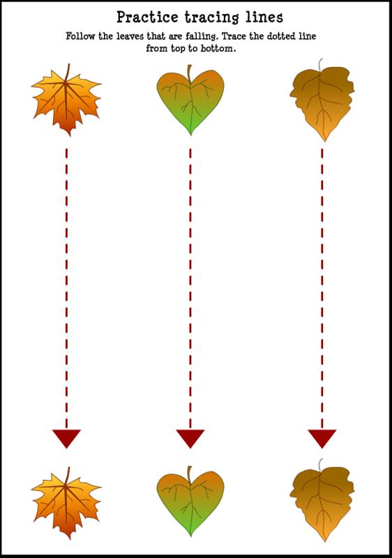 Number Names Worksheets autumn worksheet : Number Names Worksheets : fall worksheets for kindergarten ~ Free ...