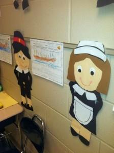 Pilgrim craft idea for kids