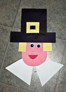 Thanksgiving Pilgrim Craft for Kids