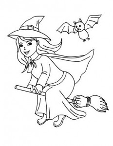 Witch-Coloring-Pages-1