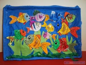 aqauarium craft idea for kids