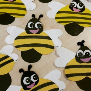 bee craft idea for kids (2)