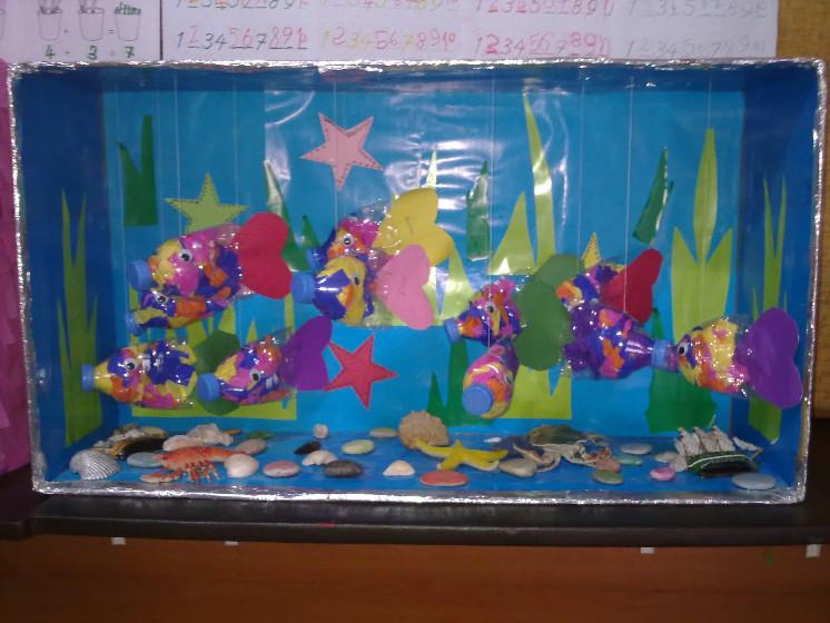 bottle fish craft