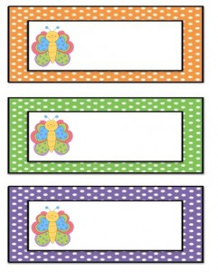 butterfly name tag (2)