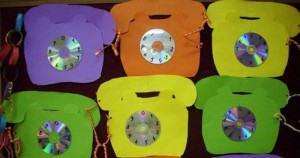 cd telephone craft