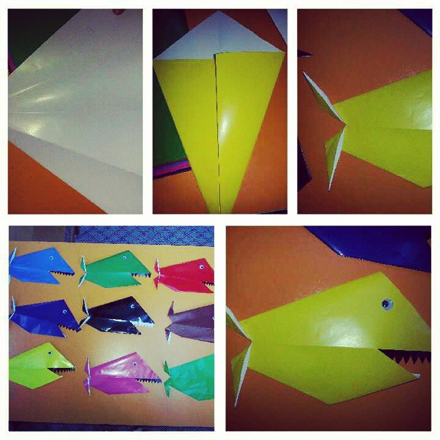 easy origami jaws craft (2)