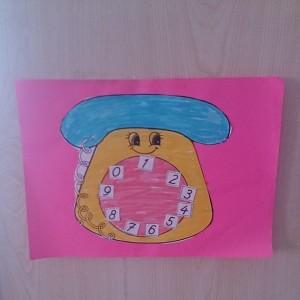 free telephone craft (2)