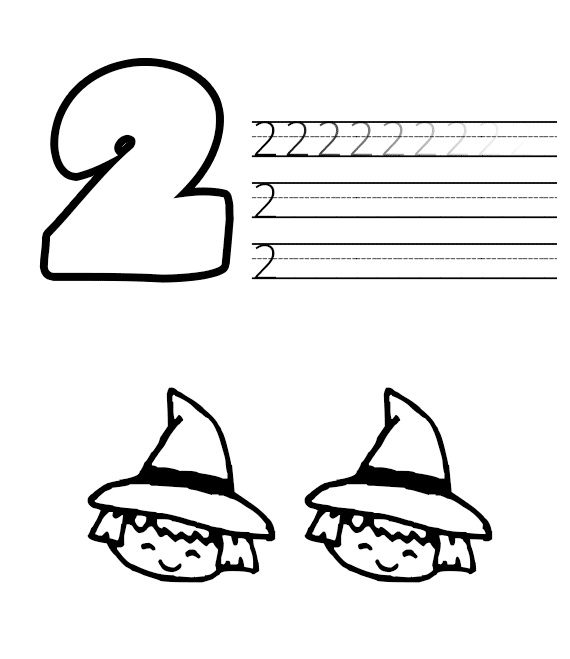 halloween number worksheets (3)