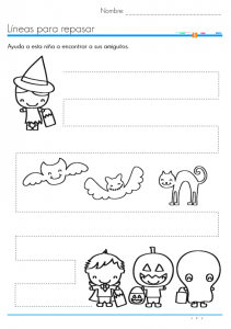 halloween trace line worksheet (1)