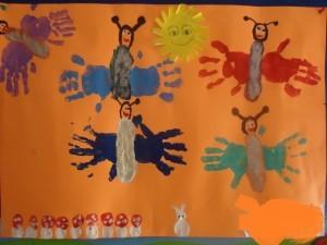 handprint butterfly craft (2)