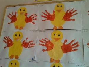 handprint chick craft (2)
