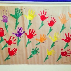 handprint flower craft (1)