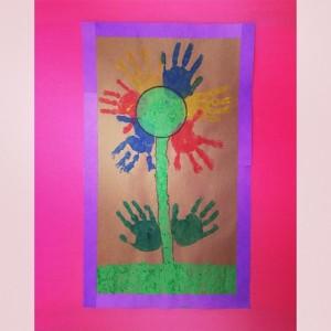 handprint flower craft (3)
