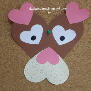 heart dog crafts