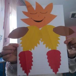leaf craft idea for kids (1)