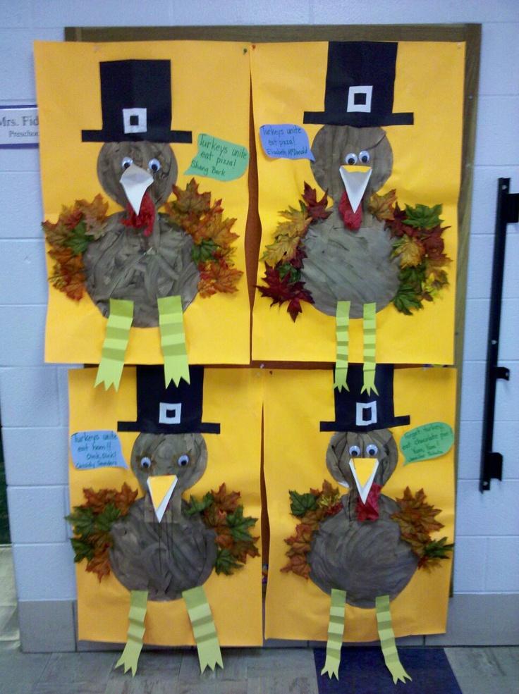 leaf turkey craft