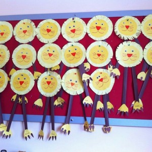 lion craft idea for kids (3)