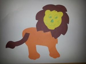 lion craft idea for kids (4)