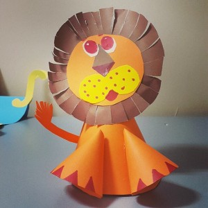 lion craft idea for kids (7)
