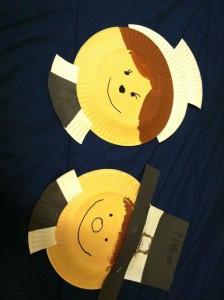 paper plate pilgrims craft