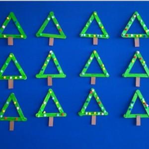popsicle stick tree craft