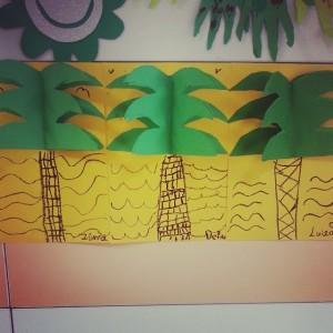 the palm tree craft