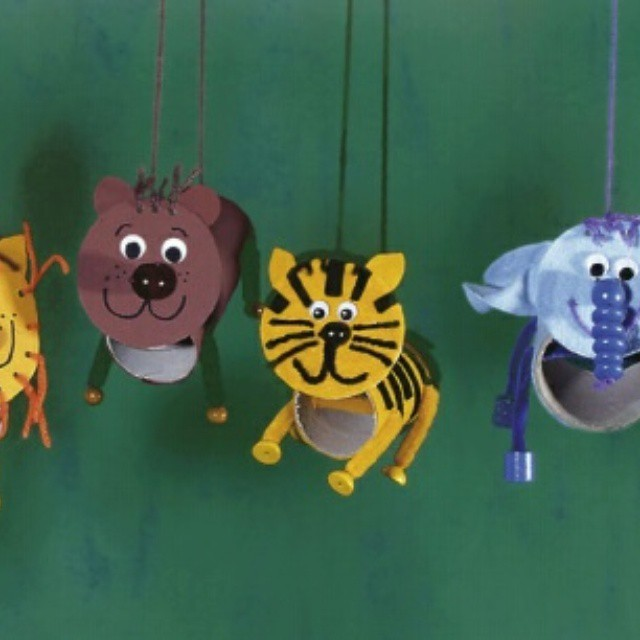 toilet paper roll animal craft