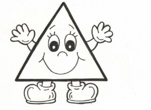 triangle coloring page (1)