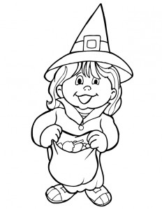 witch coloring page for kids (1)