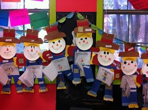 Paper Plate Scarecrow Craft 1