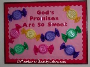 Sweet Bulletin Board idea