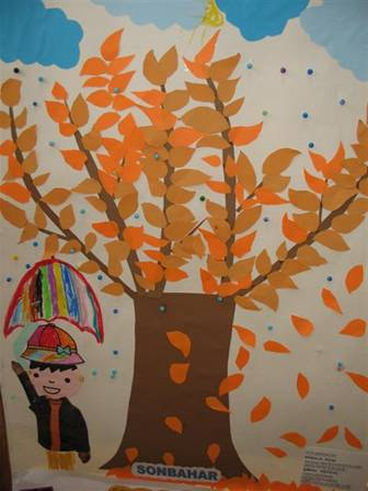autumn bulletin board
