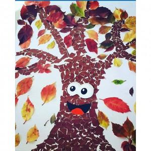 autumn tree craft